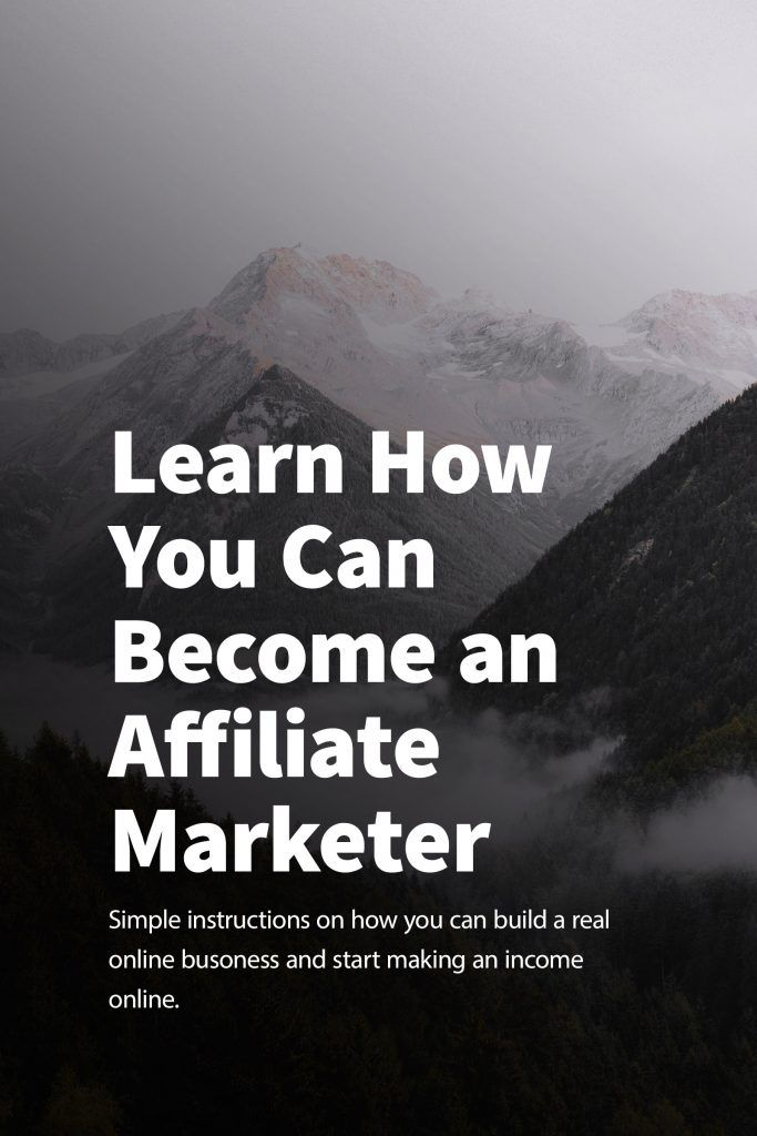 Learn How You Can Become An Affiliate Marketer